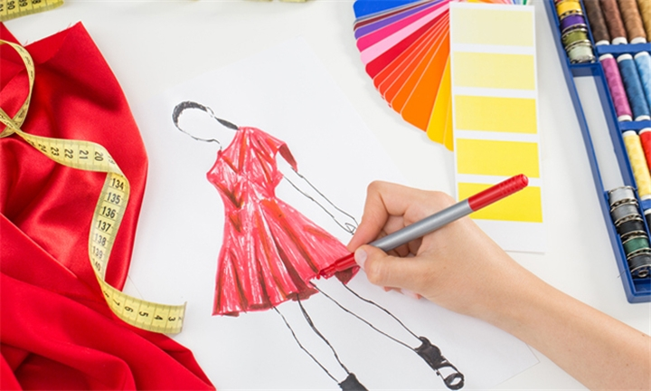 Online Course: Dress Making and Fashion Design Diploma with Vizual Coaching Academy