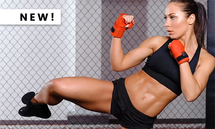 1-Month Female Only & Combined Kickboxing Membership for One at Crazy Monkey Centurion