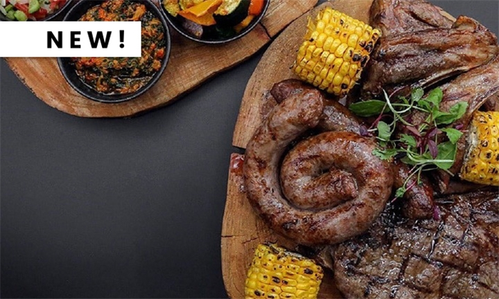 Afro-Latino Shisanyama Platter to Share for up to Four at Cafe Mojito Long Street