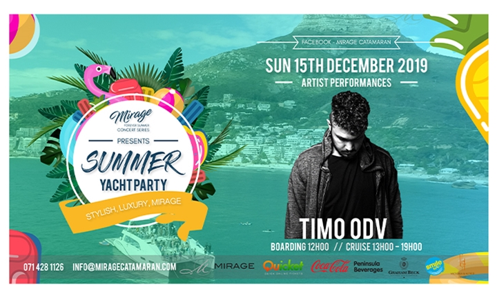 TIMO ODV On-Board The Mirage for a 7-Hour Forever Summer Luxury Yacht Party