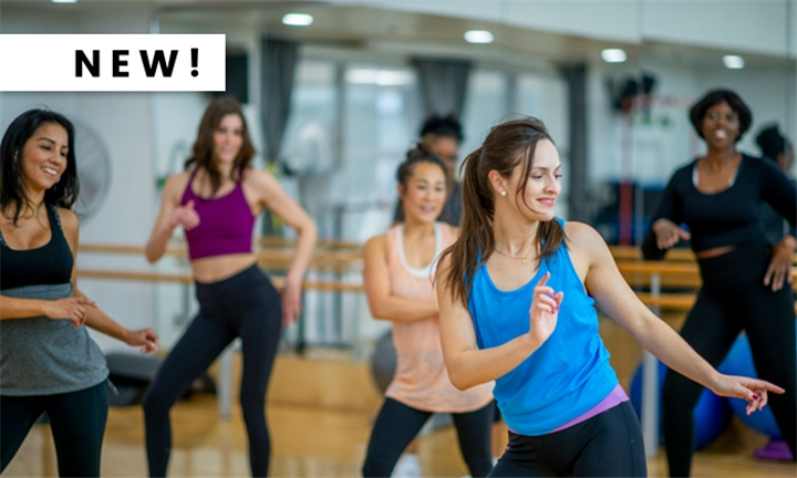 1, 3 or 5 Dance Fitness Sessions with Dance Fusion4Real
