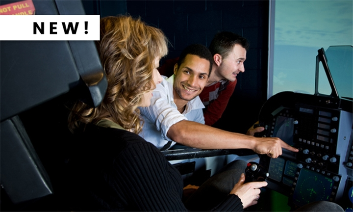 45-minute Flight Simulator Experience for One or Two with Airline Pilot Training Centre