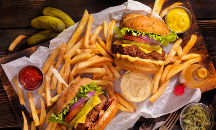 Choice of Speciality Burger with Onion Rings & Side each for Two at RJ's Premier, Morningside
