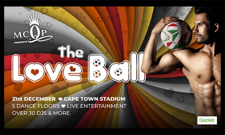 Exclusive Standard or VIP Tickets: Entry for up to Five to The Love Ball 2019 presented by MCQP