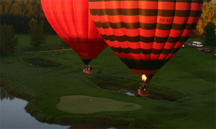 Hot Air Balloon Flight Including Breakfast & Sparkling Wine with Air to Air Africa, JHB