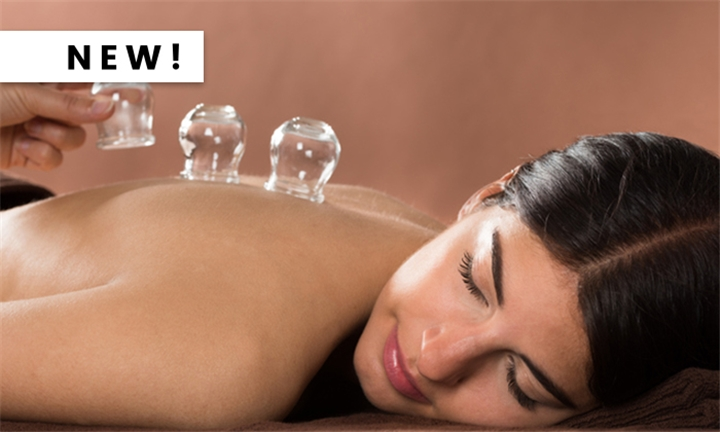 60-Minute Dry Cupping Massage at Healing Elements