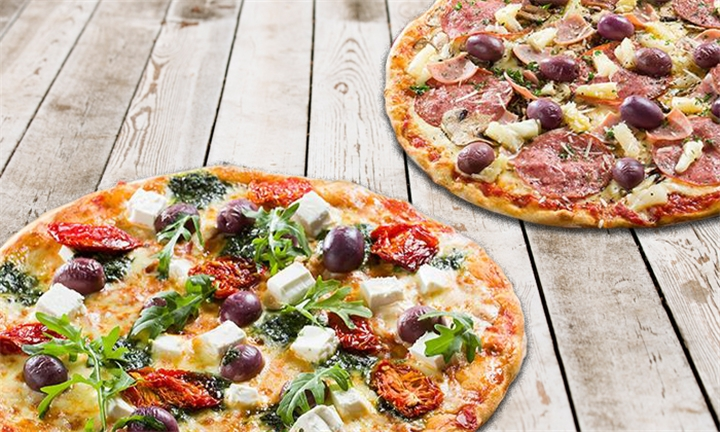 Takeaway Special: Choice of any Any 2 Large Pizzas and a 1lt Coke at Panarottis Kenilworth Centre