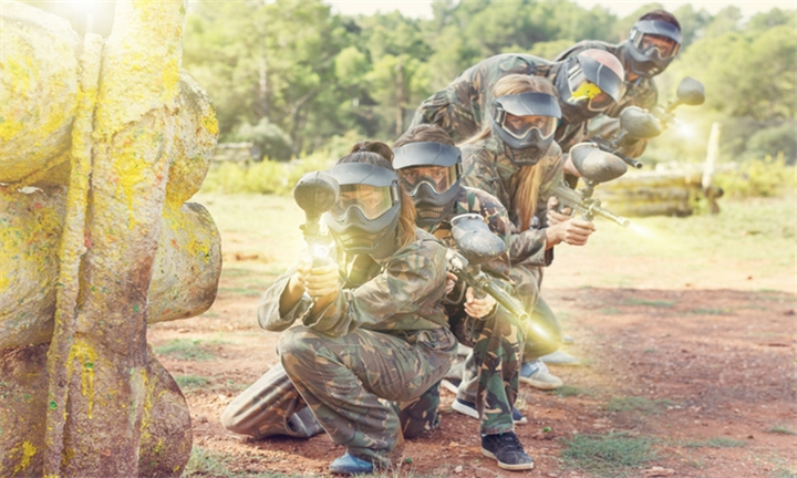 Paintball and Quad Biking for Six Including Spit Braai and Three Meats at Horse Riding Adventure
