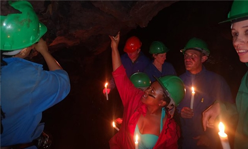 Caving by Candlelight Experience for up to Four with Kestell Adventures