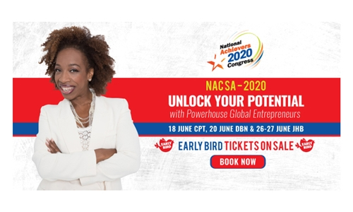 1 x Entry Ticket to National Achievers Congress: 3 City Tour with Lisa Nichols LIVE in SA