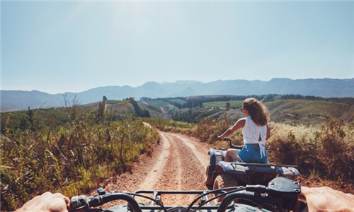 60-Minute Quad Bike Experience for One or Two at Horse and Trails Unlimited