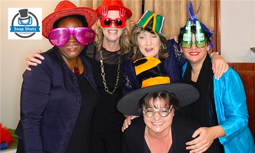 Photo Booth Hire Including Props, All Digital Images, Delivery & Setup with Snap Shots Photobooth Hire