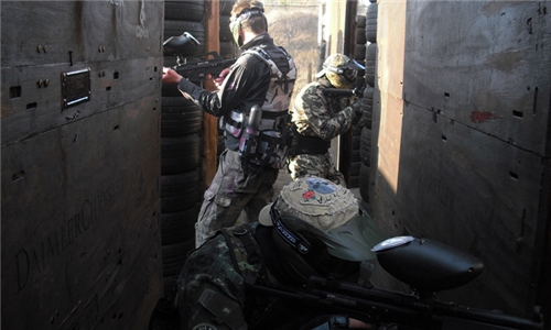 Outdoor Paintball Experience for up to Ten at Field 19 Paintball