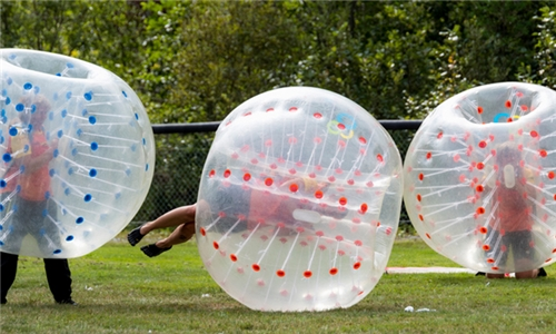 Bubble Soccer for up to 16 at Montague Action Sports Arena