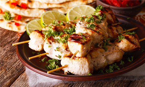 Chicken Mix Grill to Share at Mesopotamia