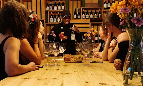 Wine Tasting Experience with Biltong and Cheese at Eighteen13 Boutique Wine Shop and Tasting Room
