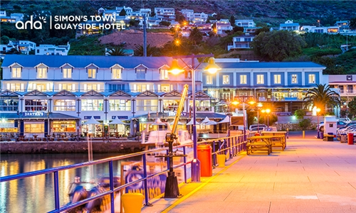 Western Cape: 1 or 2-Night Anytime Stay for Two with Breakfast at aha Simon's Town Quayside Hotel