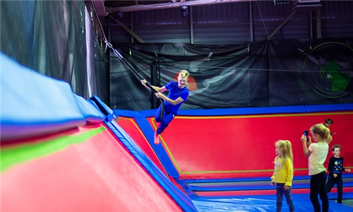 1-Hour Jump Session for 2 Kids at Rush SA, Claremont