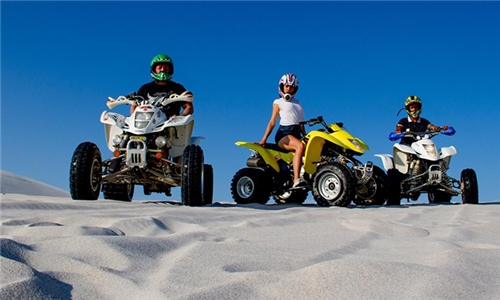 Guided Quad Bike Tour Experience with Adventure Cape Town