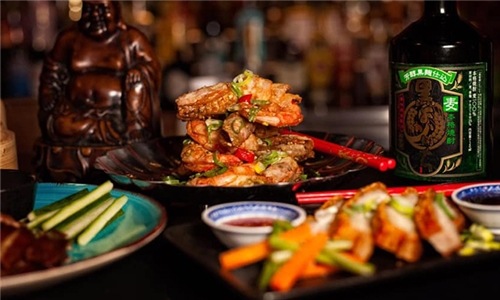 2-Course Dining Experience: Authentic Asian Cuisine at Boudha Lounge