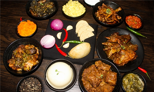 Afro-Cuisine Platter to Share Including 25% off a Premium Shisha at Cafe Mojito