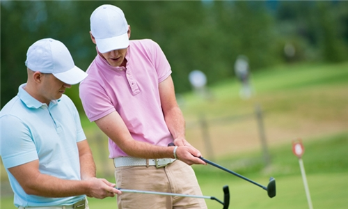Private Golfing Lesson with a Professional Golfer at Play Golf