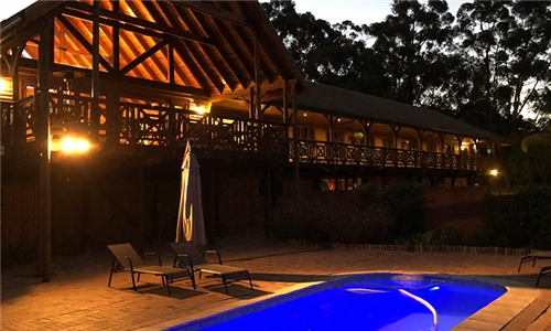 Cape Winelands: 1-Night Stay for Two Including Breakfast at The Log Cabin Lodge