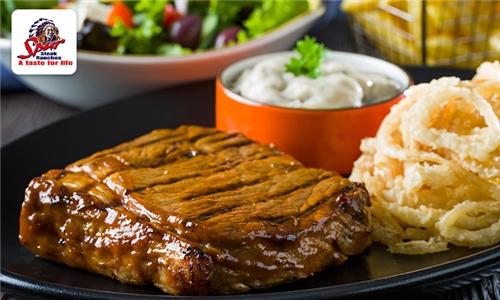 2-Course Meal at Pensacola Spur Steak Ranch
