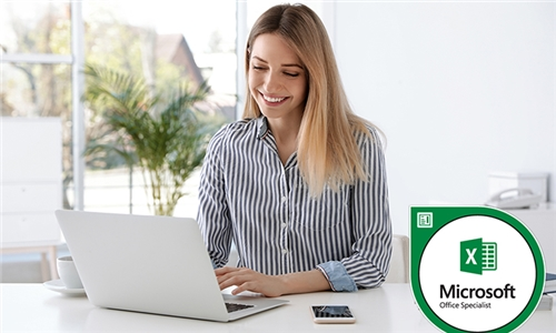 Online Course: MOS – Microsoft Office Specialist Excel 16 Package with E-courses4you