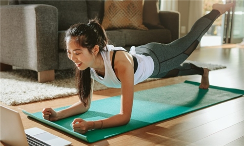 Choice of Once-Off or 1-Month Online Pilates Class with Corescap Pilates