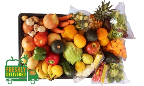 Family Combo Box of Fruit and Veggies Delivered to your Door