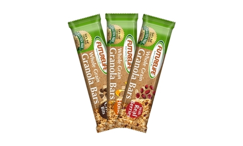 12 x [5 x 40g] Package of FUTURELIFE Granola Bars Real ® Delivered to your Door