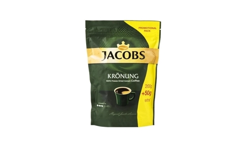 Jacobs Kronung Instant Coffee Pouch – 250g