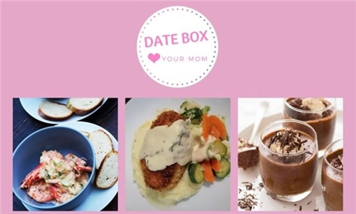 Mother's Day Date Box for Two, Three or Four Including Delivery from Jacdi Entertaining Services