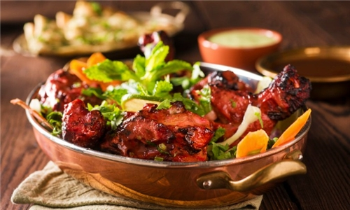 Family Combo for Delivery: Full Tikka Chicken & Sides from Imperial Gardens Restaurant