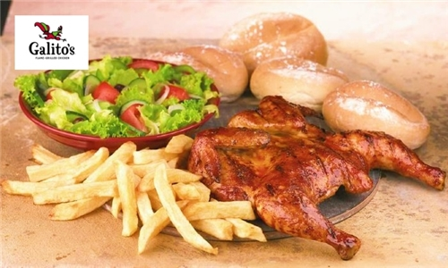 Choice of Meal to Share Delivered to your Door from Galito's Sunninghill