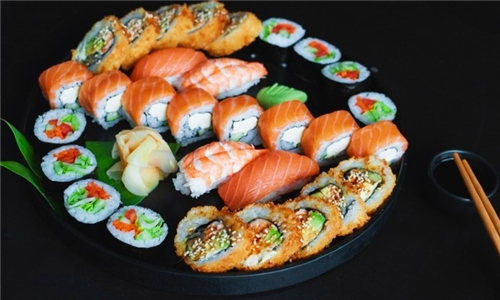 24 or 36-Piece Sushi Platter from Sushi Central including Delivery
