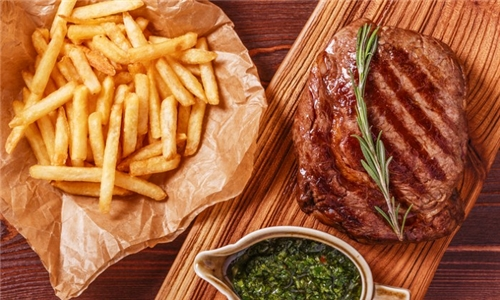350g Rump and Chips with Delivery (excl) from Fahrenheit Seafood & Grill, Benoni