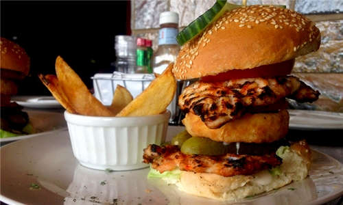 Choice of Legendary Burger Delivered to your Door (excl) from Santis