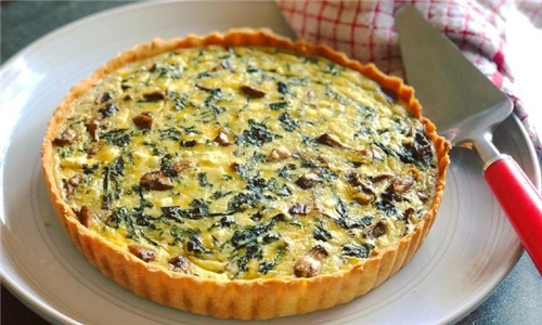 Choice of Large Chicken or Veg Family Size Quiche Delivered to your Door