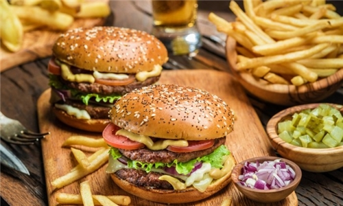 Choice of Burger with Chips for Pick Up or Delivery from Weezy's