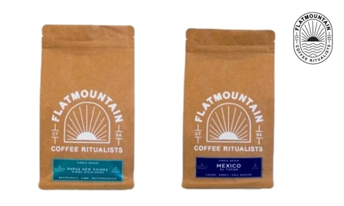 1 or 5kg Single Origin Coffee Delivered to your Door from Flatmountain Coffee Roasters