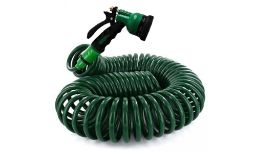 15M Coiled Retractable Hose Including Delivery