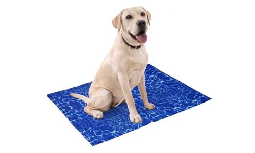 Pet Cooling Mat – Blue Waves Including Delivery