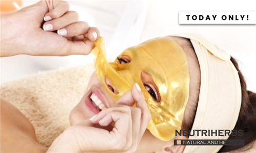 24K Gold Face Mask Delivered to your Door from Neutriherbs