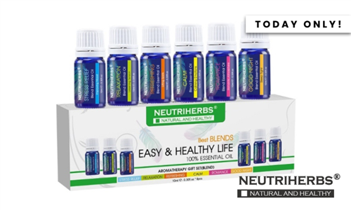 Aromatherapy Essential Oils Delivered to your Door from Neutriherbs