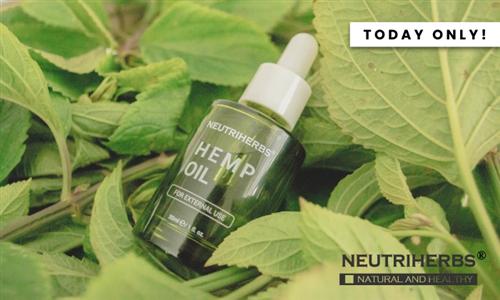Neutriherbs Hemp Oil 30 ml Delivered to your Door