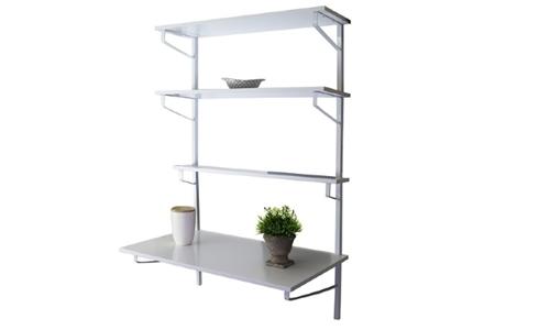 Fine Living Franklin Desk Shelf Wall Unit Including Delivery