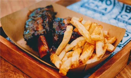 Pick-Up: 800g Flame-Grilled Beef Ribs with Chips from BROCKA Rondebosch