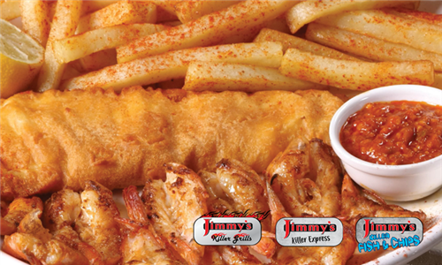 Pick-Up: Jimmy's Stay at Home Platter at Jimmy's Killer Fish & Chips and Express, East Rand